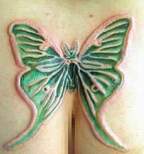 Extreme Scarification Tattoos (17 pics)