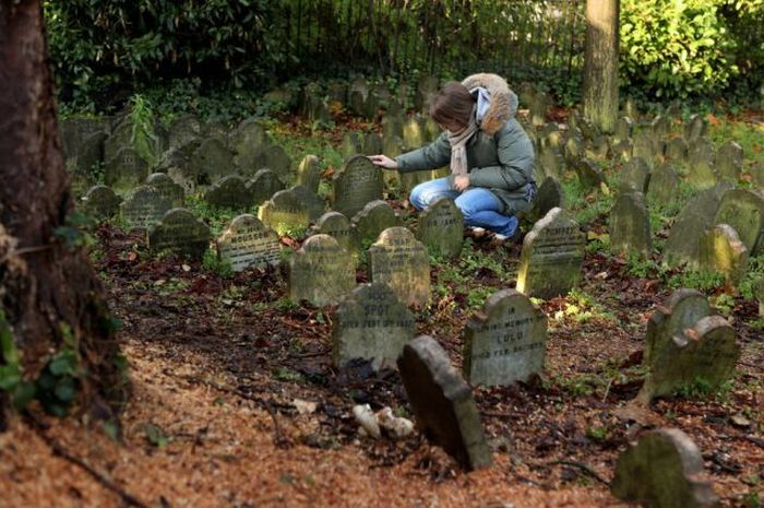 Pet Cemetery in London's Hyde Park (8 pics)