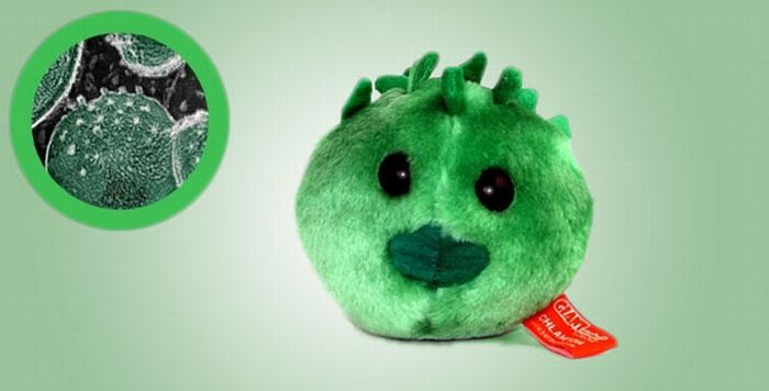 Giant Plush Microbes (20 pics)
