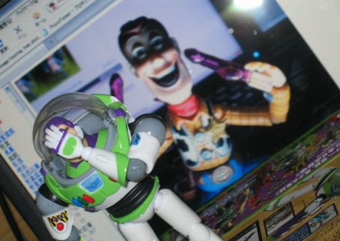 The Secret Life of Woody From Toy Story (46 pics)