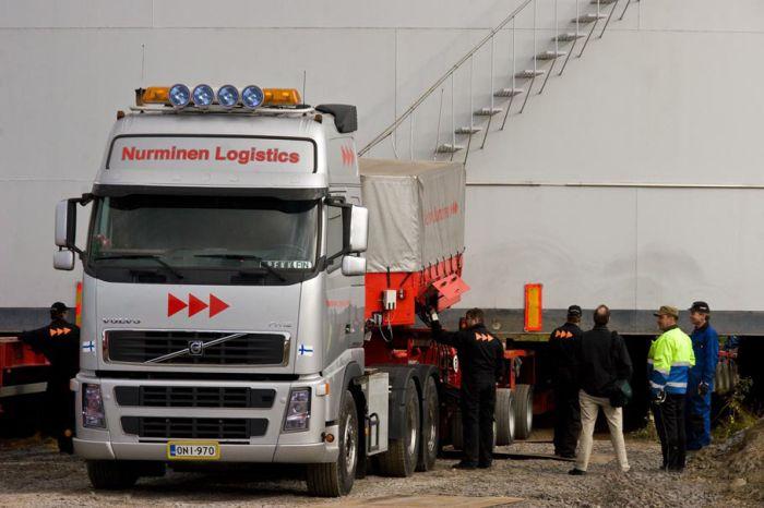Transportation of XXL Cargo (8 pics)