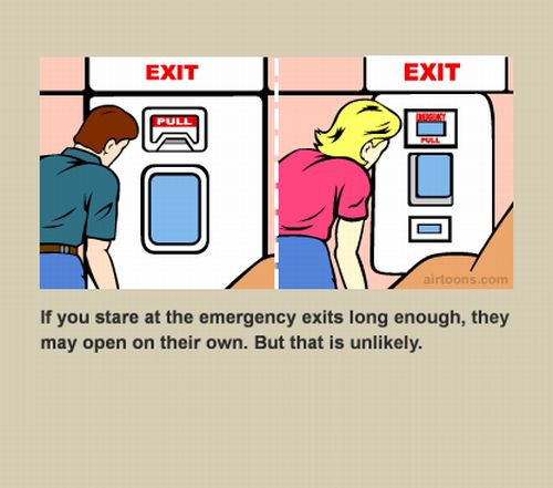 In Flight Safety Cards 56 Pics