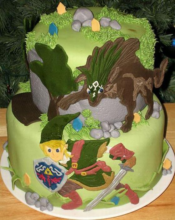 Video Game Cakes (17 pics)