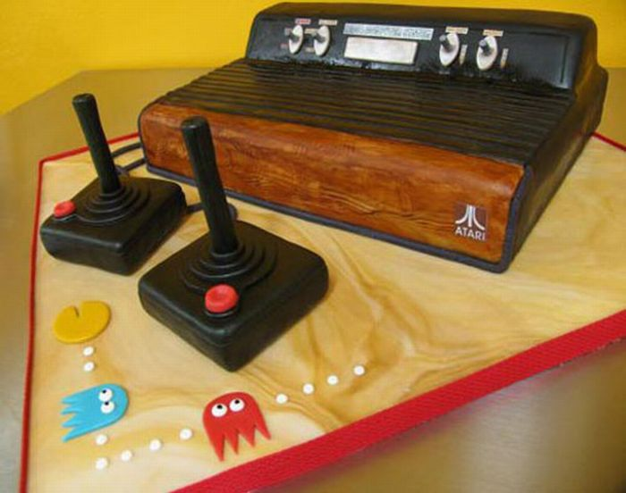 Video Game Cakes (17 pics)
