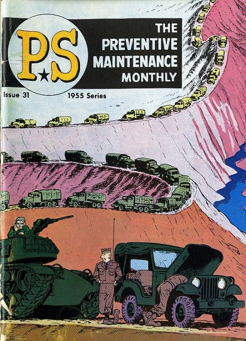 PS, The Preventive Maintenance Monthly (45 pics)