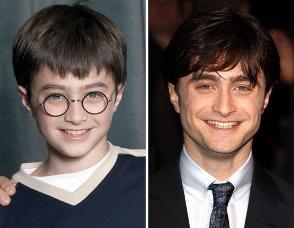 Harry Potter Kids Then and Now (8 pics)