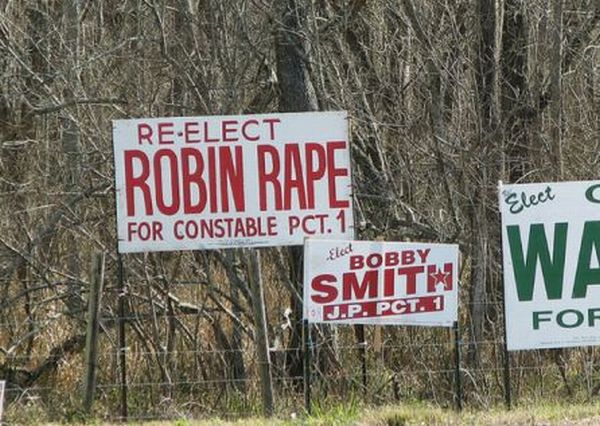Most Unfortunate Politician Names (24 pics)
