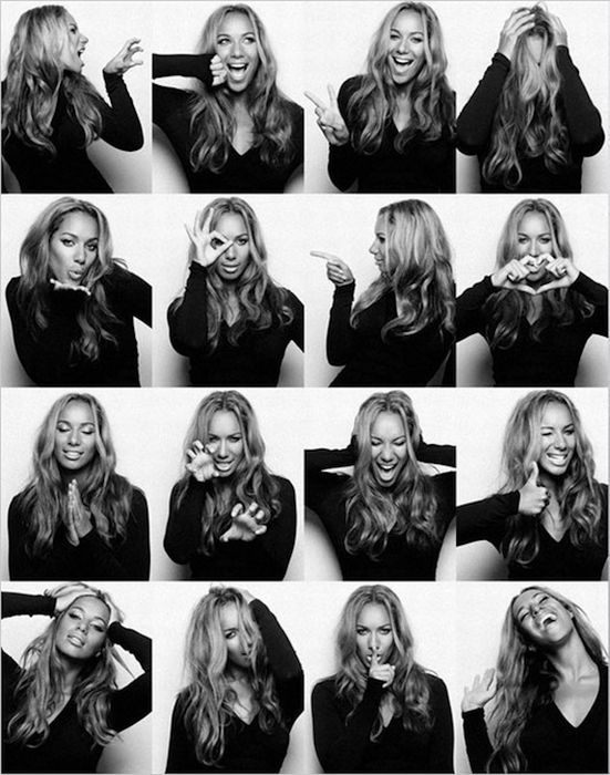 Celebrity Photo Booth (16 pics)