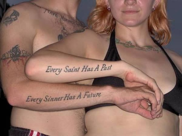 Cool Matching Tattoos (12 pics)