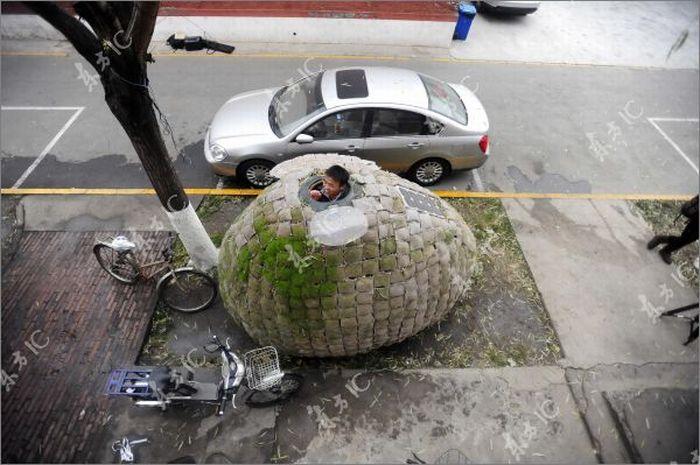 Egg House for Homeless People (23 pics)