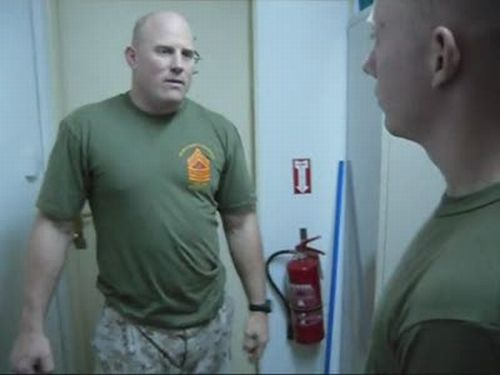Marine Corps Knife Hands
