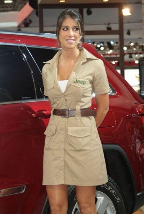 Brazilian Car Show Models (22 pics)