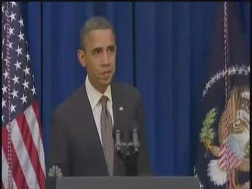 Obama Kicks The Door Open. Edited but Still Good