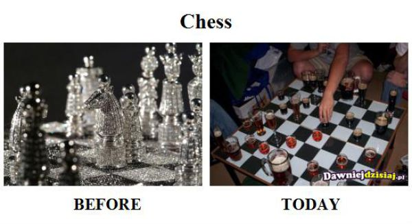 Past vs Present (29 pics)