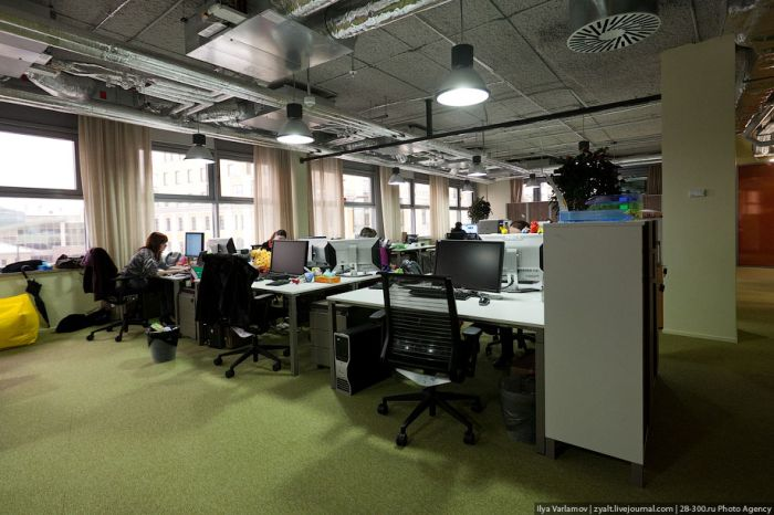 New Google Office in Moscow (49 pics)
