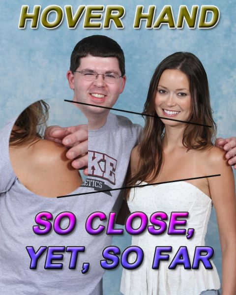 Hover Hands or Instant Virgin Detector (19 pics)