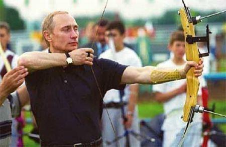 Vladimir Putin Doing Sport (18 pics)