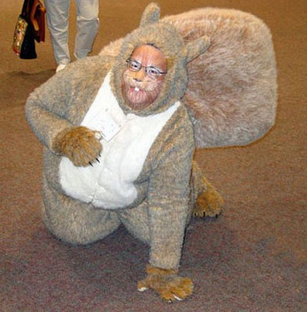 Strange Looking People Wearing Fur (23 pics)