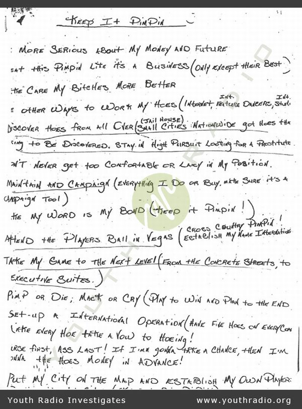 Pimp's Business Plan (2 pics)