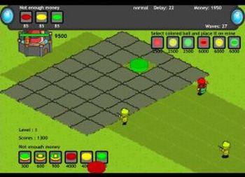Strategy Defense 6: Colored Mine