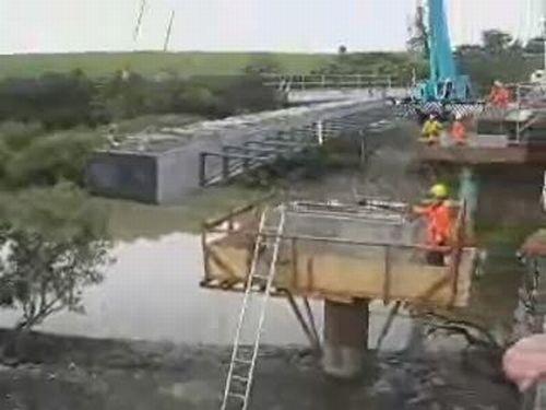 Crane Mishap
