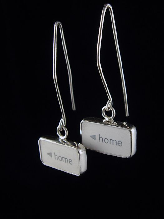 Jewelry Made in Form of Keyboard Keys (33 pics)