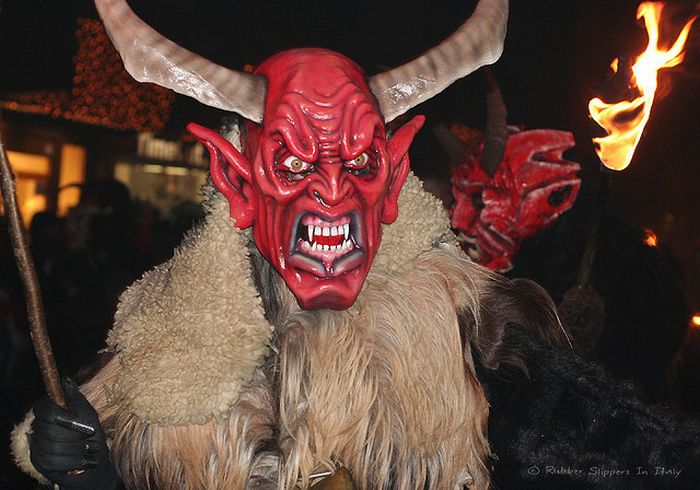 Krampus. The Evil Companion of Santa (23 pics)