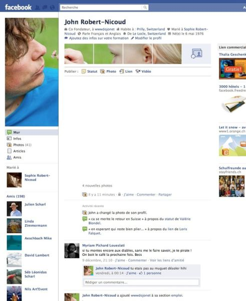 Awesome Uses Of The New Facebook Profiles Page (31 pics)