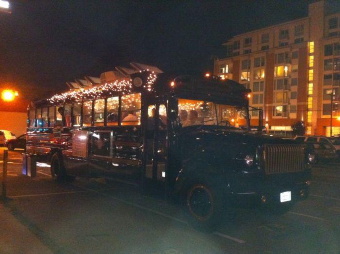 Bus Restaurant Le Truc (11 pics)