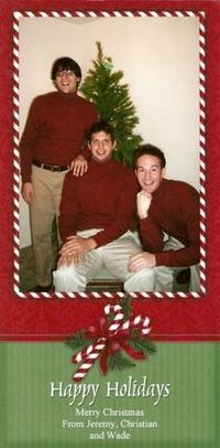 How Not to Do a Family Card (20 pics)