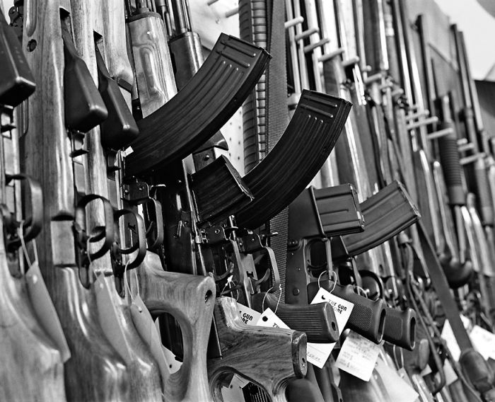 Guns in America (27 pics)