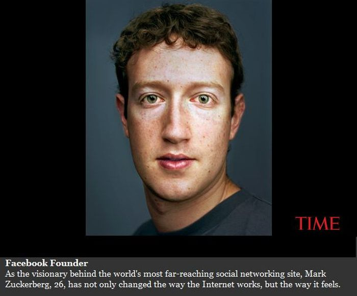 Mark Zuckerberg — TIME's 2010 Person of the Year (6 pics)