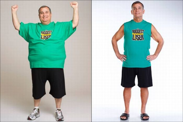 The Biggest Loser. Before and After the Show. Part 2 (17 pics)