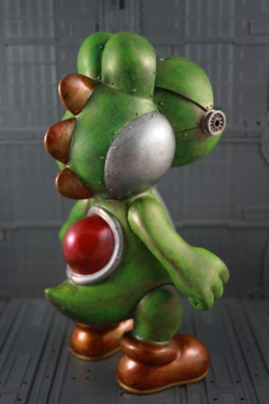 Awesome Mecha Yoshi Art Toy (4 pics)