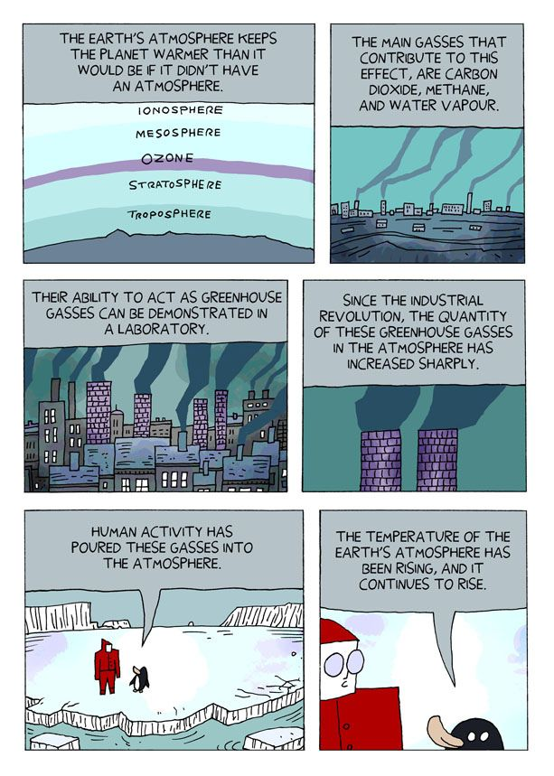 Climate Change Skeptic Comic (18 pics)