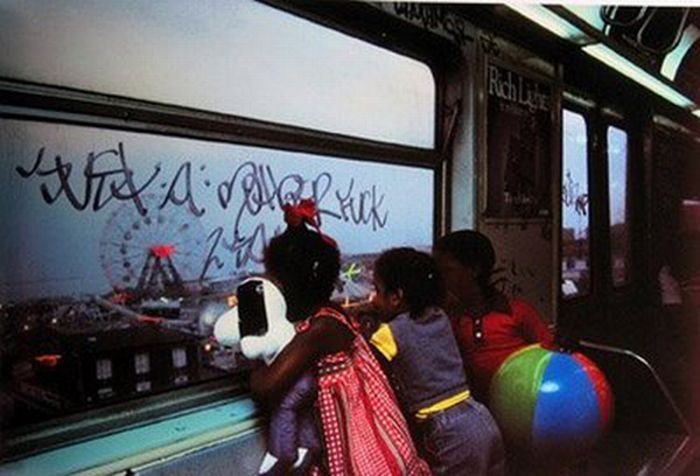 NYC Subway Photos From the 1980's (26 pics)