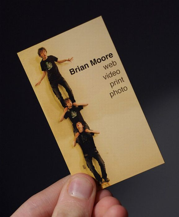 Very creative business cards 69 pics reheart Images