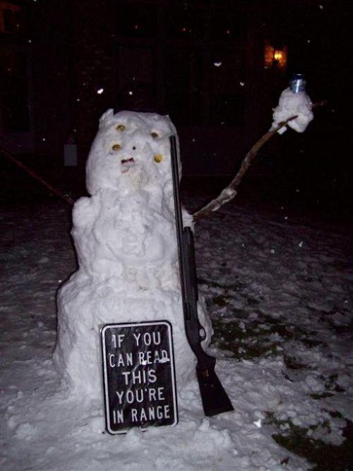 Hilarious Snowmen (40 pics)