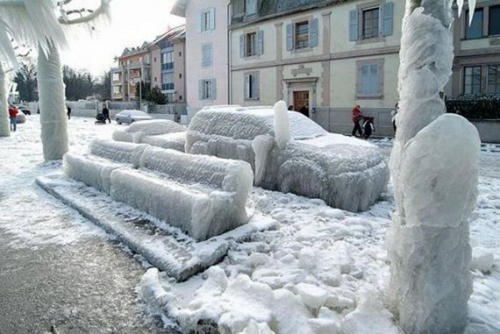 The Beautiful Aftermath of Ice Storms (25 pics)