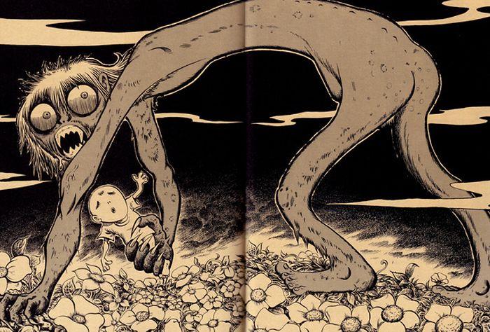 Gothic Horror Illustrations by Tatsuya Morino (20 pics)