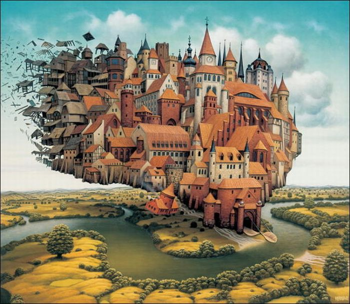 Stunning Cartoon Worlds (80 pics)