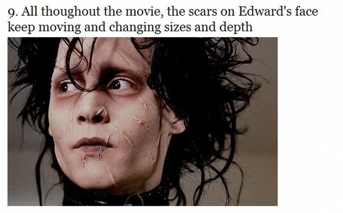 "12 Things You Probably Didn't Know About The Movie ""Edward Scissorhands"" (12 pics)"
