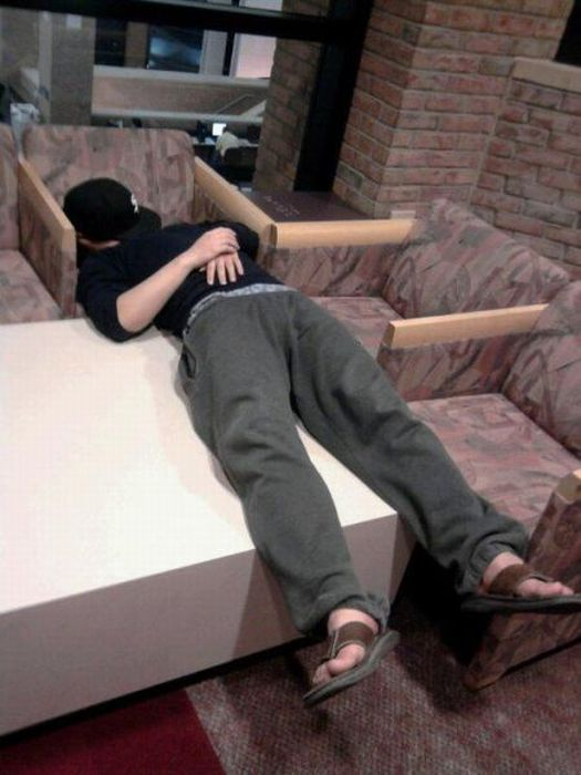 Where Asians Like to Sleep (81 pics)