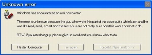 Funny Error Messages (31 pics)