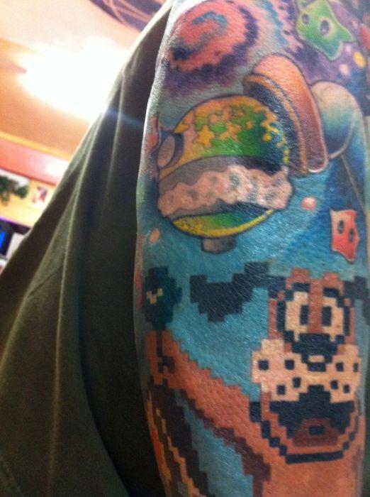Stunning Gaming Tattoo (54 pics)