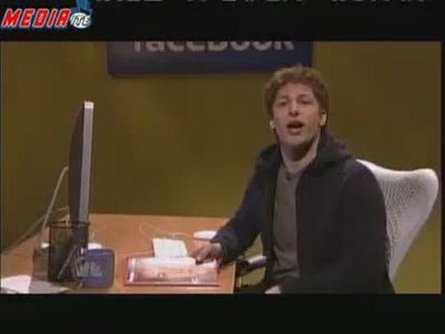 Assange against Zuckerberg on SNL