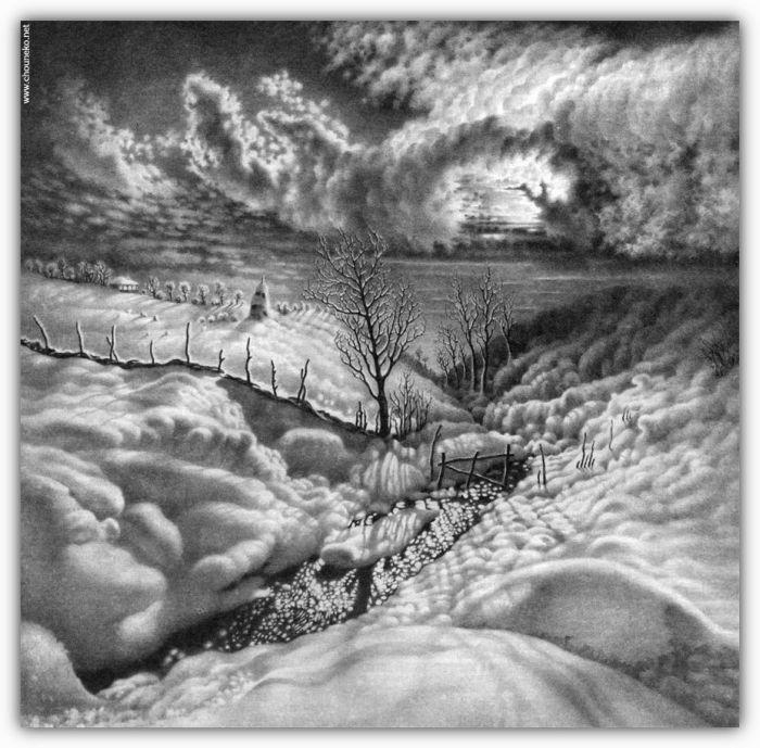 Beautiful Winter Drawings (58 pics)