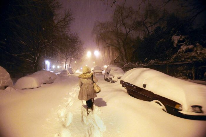Winter Storms in the USA (20 pics)