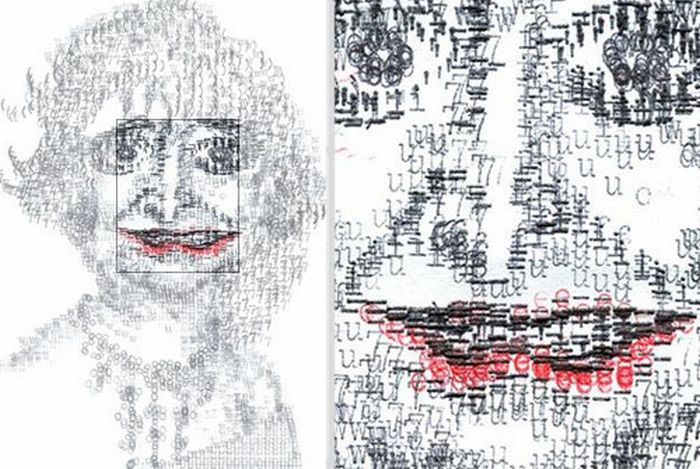 Amazing Typewriter Art (16 pics)