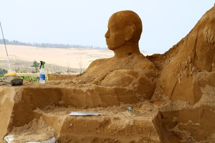 Japanese Museum of Sand Sculptures (21 pics)